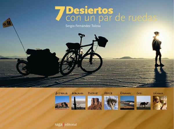 libro 7 desiertos con un par de ruedas - oferta especial tapa dura