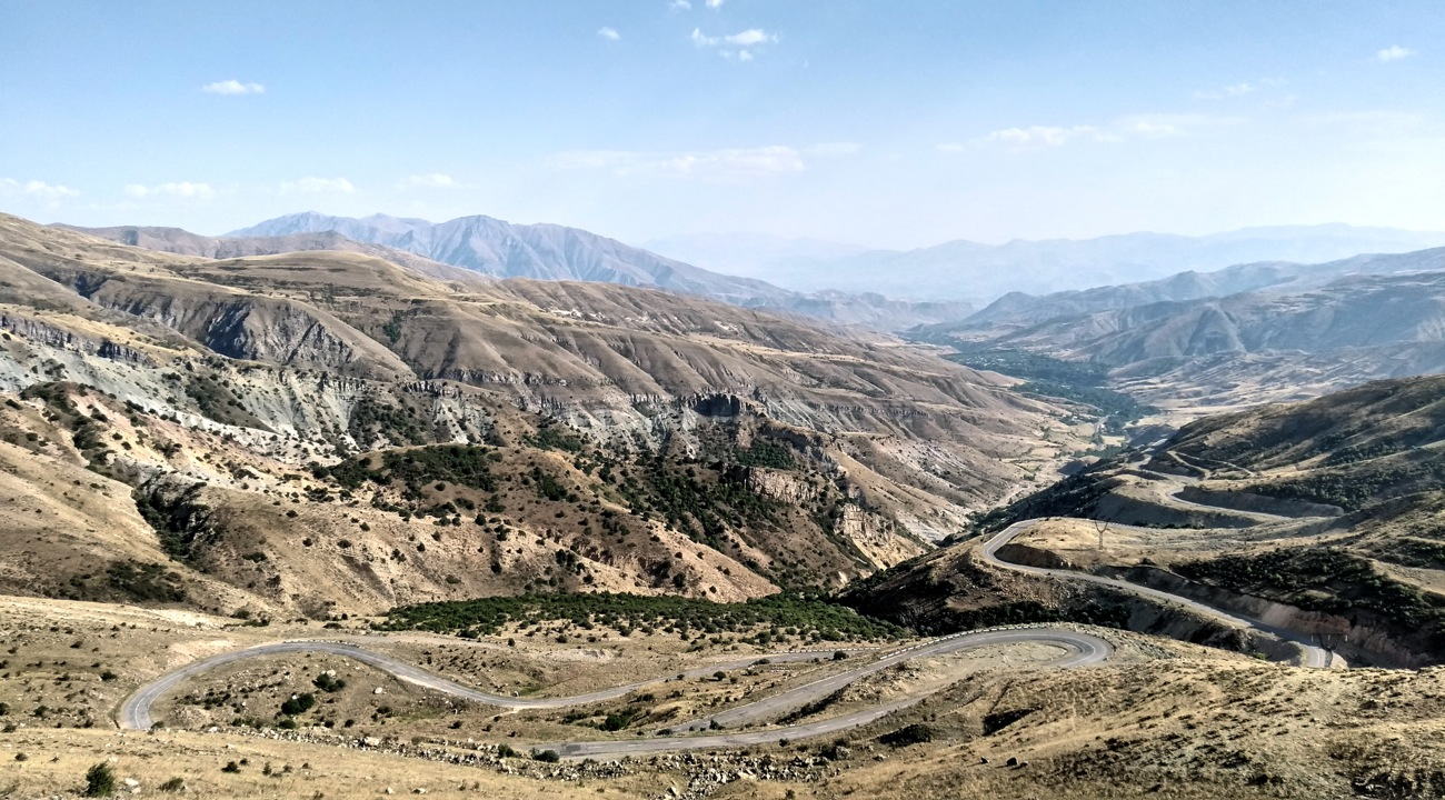 Armenia bikepacking