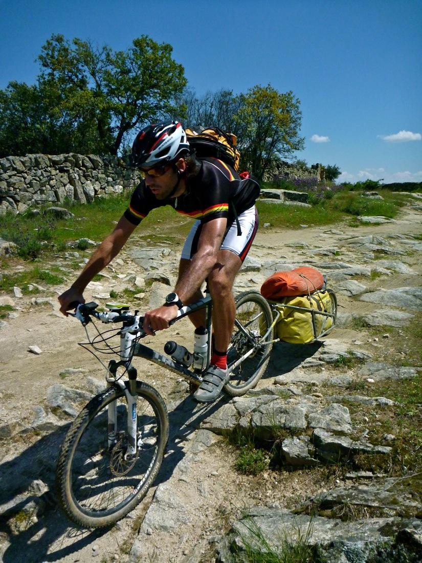 Barcelona Madrid en mountain bike