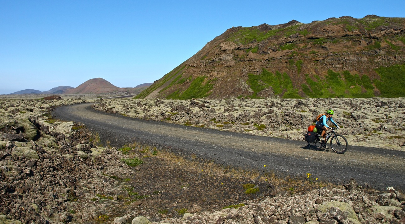 Islandia Costa Sur en bicicleta