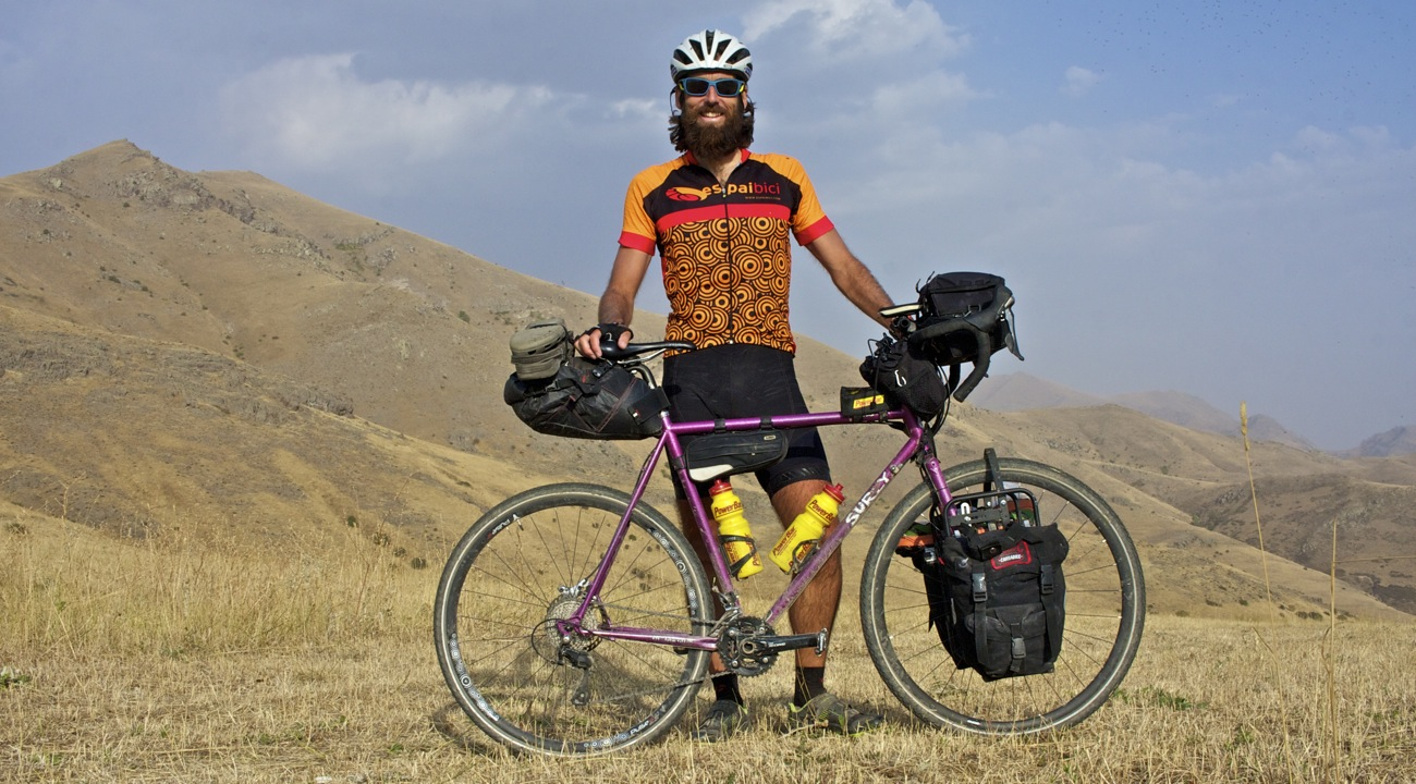 Surly Straggler in Armenia.