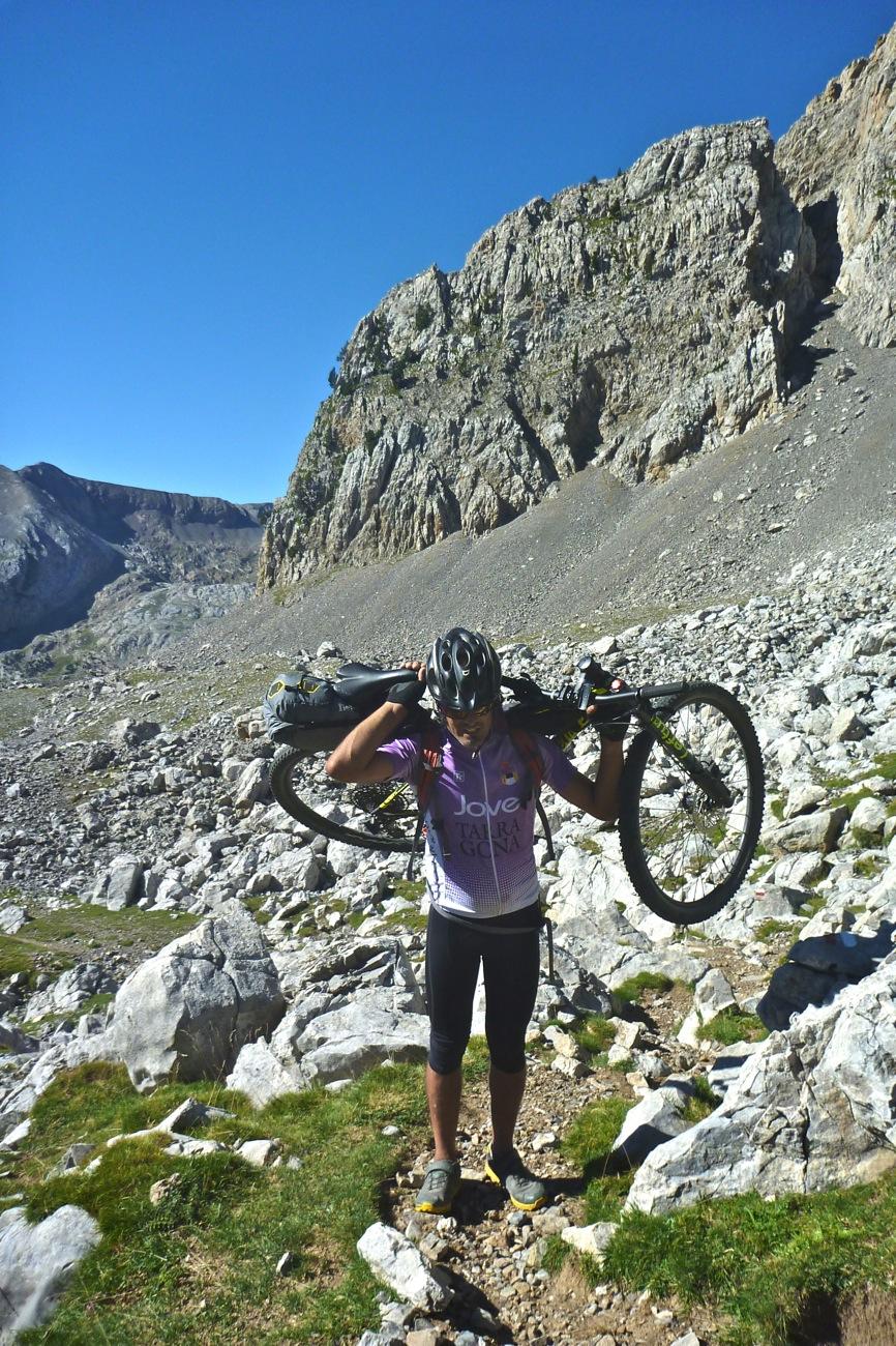 Ruta bikepacking sector porteo Paso de las Garzas