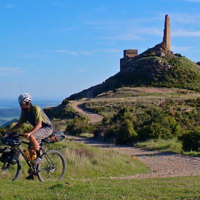Camino Natural Hoya de Huesca, castillo de Marcuello