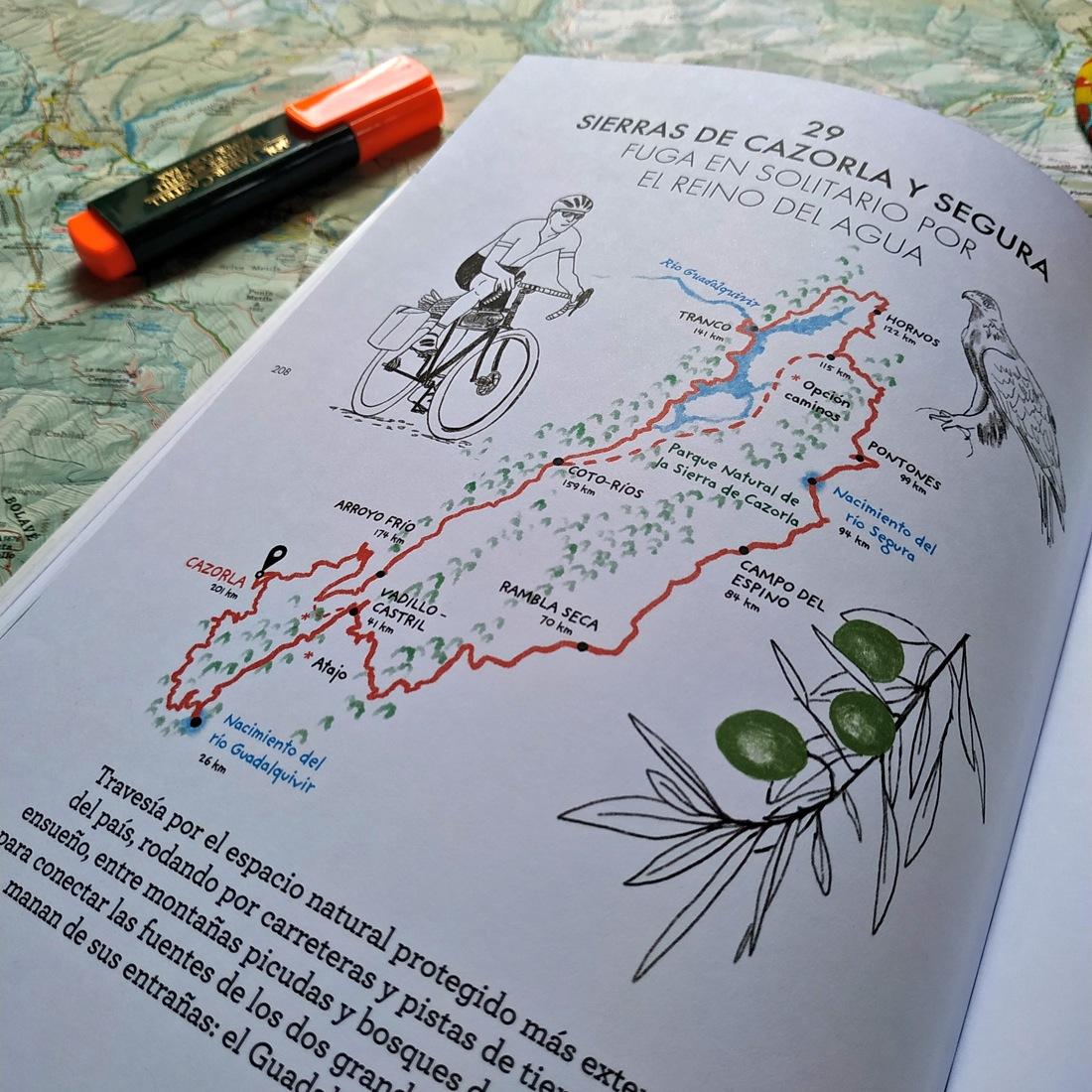 Libro España en bicicleta de GeoPlaneta