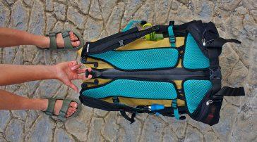 Test de la mochila Ortlieb Atrack 35