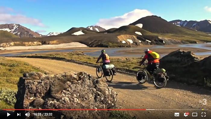 Vídeo travesía Islandia en bicicleta Highlands I CONUNPARDERUEDAS.com
